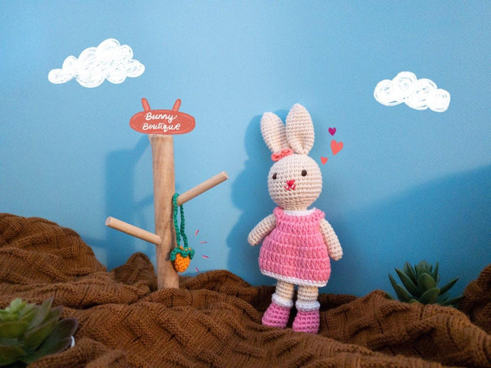 Abby Rabbit Toy Plushy