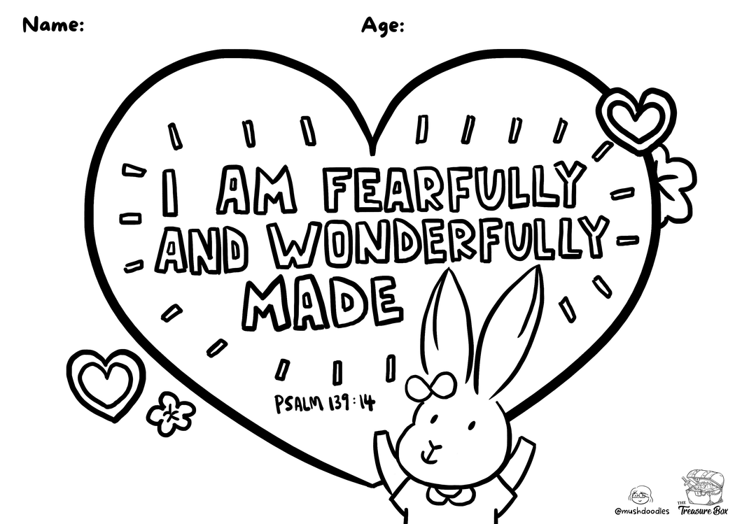 Abby Rabbit Colouring Sheet
