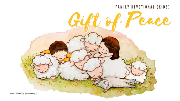 Gift of Peace Family Devotional- kids (Free download)