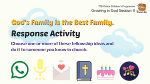 Parent's Guide: God's Family is the Best Family