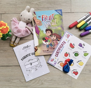 The Fruit of the Spirit - A Devotional Activity Book for Little Ones