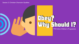 Parent's Guide: Obey? Why Should I?