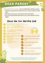 Load image into Gallery viewer, Parent's Guide: Worship Is All About Jesus