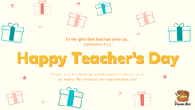 Load image into Gallery viewer, Parent's Guide: Thank You Teachers