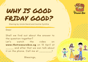 Good Friday Special Programme Invitation Card