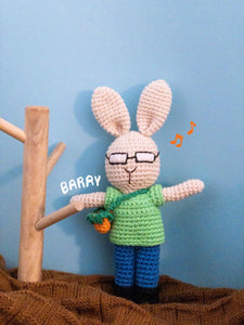 Barry Rabbit Toy Plushy
