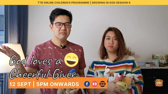 Parent's Guide: God Loves A Cheerful Giver