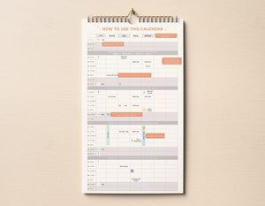[PRE-ORDER] 2021 Family Devotional Wall Planner