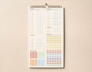 2021 Family Devotional Wall Planner