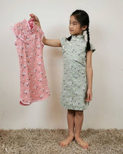 Load image into Gallery viewer, Grandma Jenny Pink Floral CNY Dress
