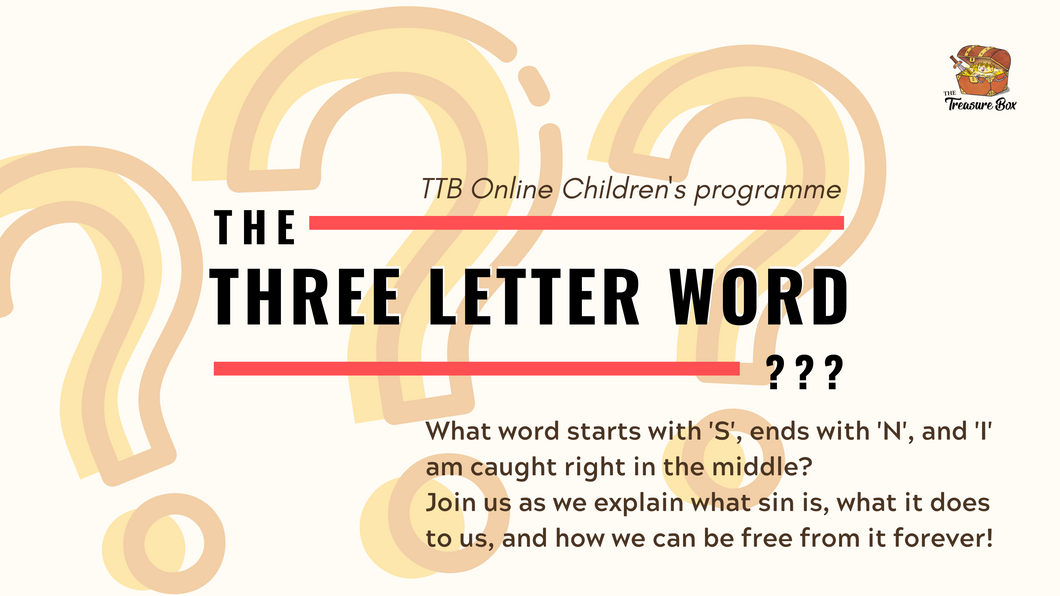 Parent's Guide: The Three Letter Word - SIN