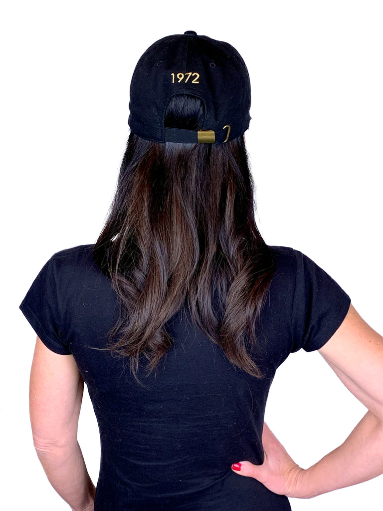 COL1972 Black Baseball Hat