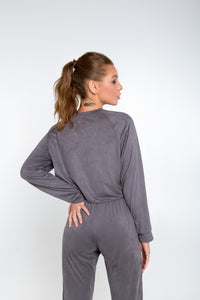 CHILL GREY JUMPER - Designed for Fitness