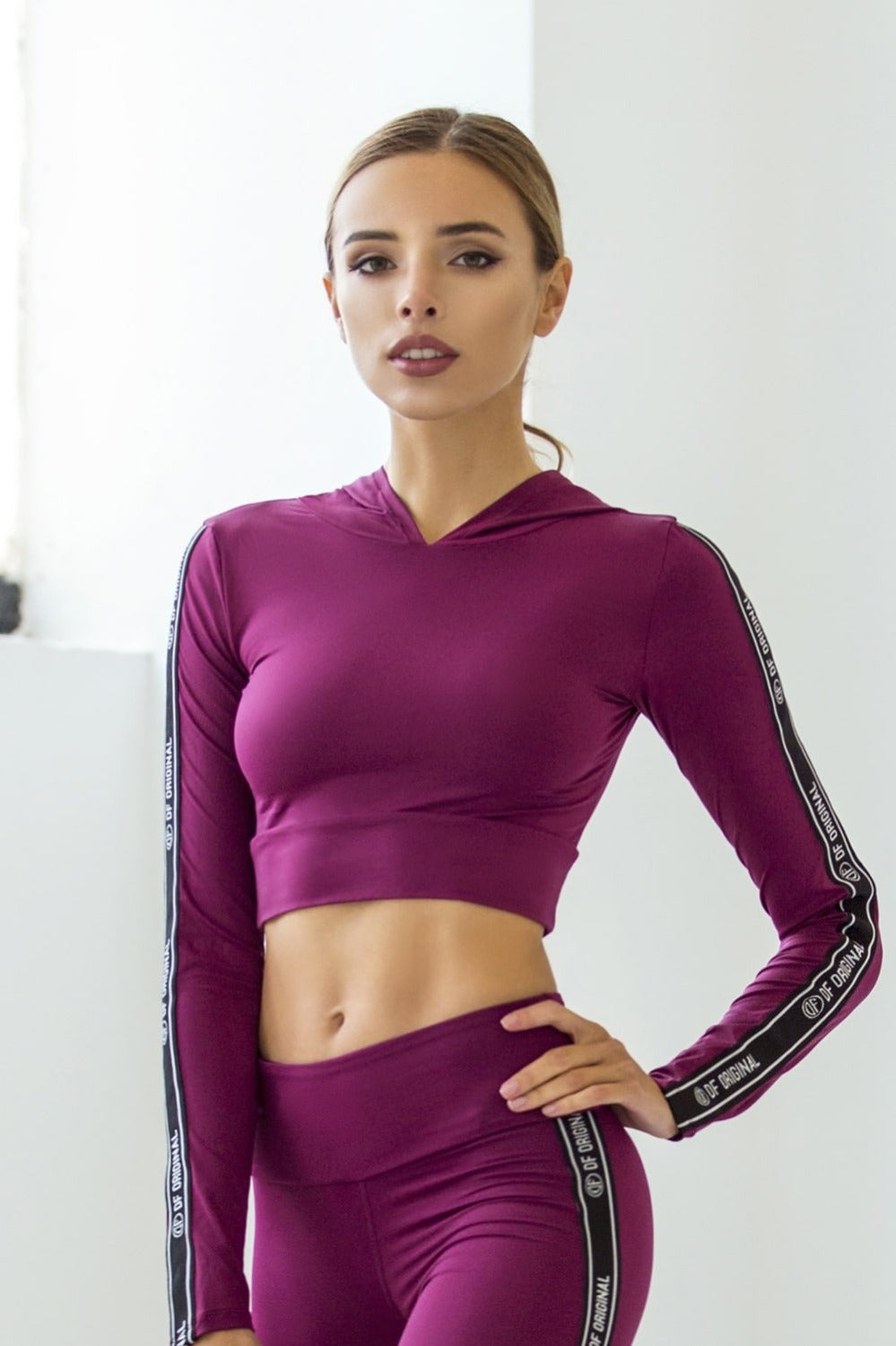 DF ORIGINAL VOGUE BRA HOODIE - Designed for Fitness