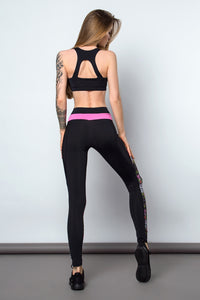 Fitness Set Bra and Leggings BARSA - Designed for Fitness