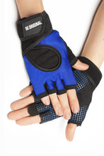 Load image into Gallery viewer, GLOVES DF ORIGINAL BLUE - Designed for Fitness
