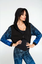 Load image into Gallery viewer, Gradient Indigo Hoodie - Designed for Fitness