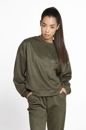 JUMPER WINTER CHILL KHAKI - Designed for Fitness