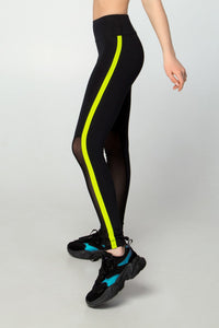 LEGGINGS ONE NEON LEMON - Designed for Fitness