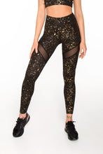 Load image into Gallery viewer, LEGGINGS STARDUST GOLD - Designed for Fitness