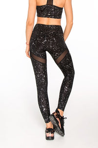 LEGGINGS STARDUST SILVER - Designed for Fitness