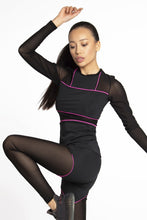 Load image into Gallery viewer, LONGE SLEEVE CRAZY BASIC PINK - Designed for Fitness