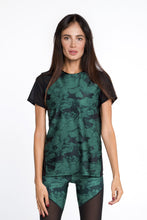 Load image into Gallery viewer, MARBLE EMERALD T-SHIRT - Designed for Fitness