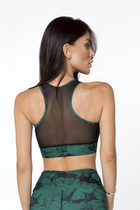 MARBLE EMERALD TOP - Designed for Fitness