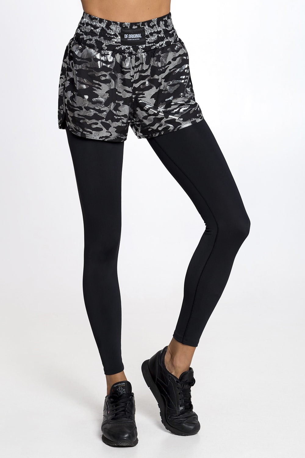 MILITARY SHORTS-LEGGINGS - Designed for Fitness