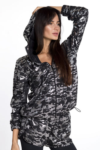MILITARY WINDBREAKER BLACK - Designed for Fitness