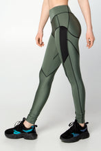 Load image into Gallery viewer, NEBULA NEPHRITIS LEGGINS - Designed for Fitness
