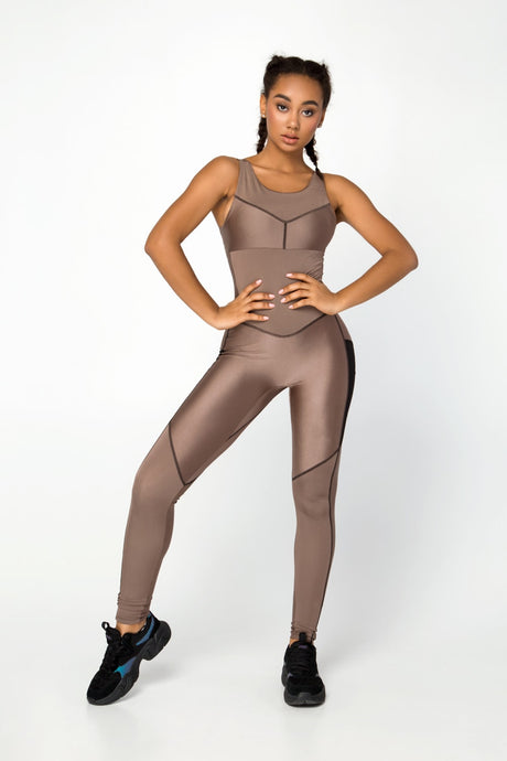 NEBULA UMBER JUMPSUIT - Designed for Fitness