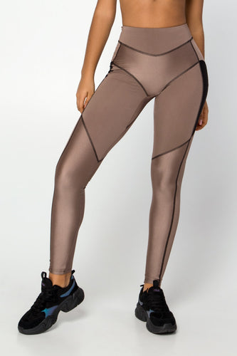 NEBULA UMBER LEGGINGS - Designed for Fitness