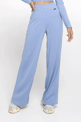 PANTS RUBBY DUSTY BLUE - Designed for Fitness