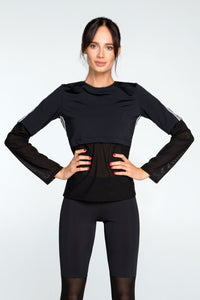 LONG SLEEVE 4 STRIPES - Designed for Fitness
