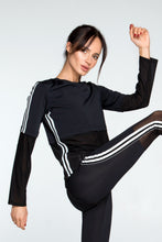 Load image into Gallery viewer, LONG SLEEVE 4 STRIPES - Designed for Fitness