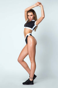 Swimsuit Black SURF GIRL - Designed for Fitness