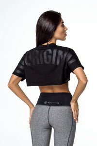 T-SHIRT DF ORIGINAL OVERSIZE CROP - Designed for Fitness