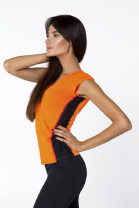 T-SHIRT ORANGE - Designed for Fitness