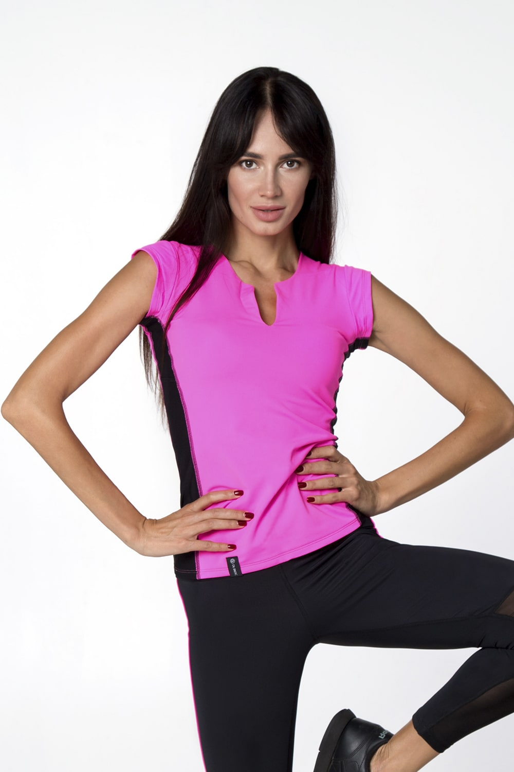 T-SHIRT PINK - Designed for Fitness