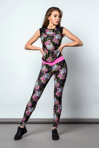 Fitness Set T-shirt and Leggings BARSA - Designed for Fitness