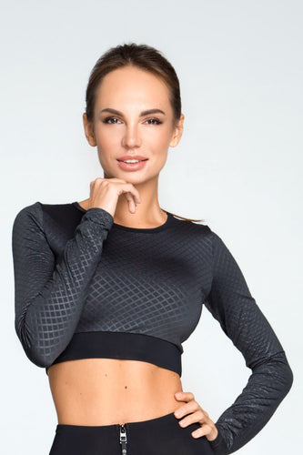 3D Titanium Top with long sleeves - Designed for Fitness