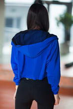 Load image into Gallery viewer, HOODIE ROYAL BLUE - Designed for Fitness