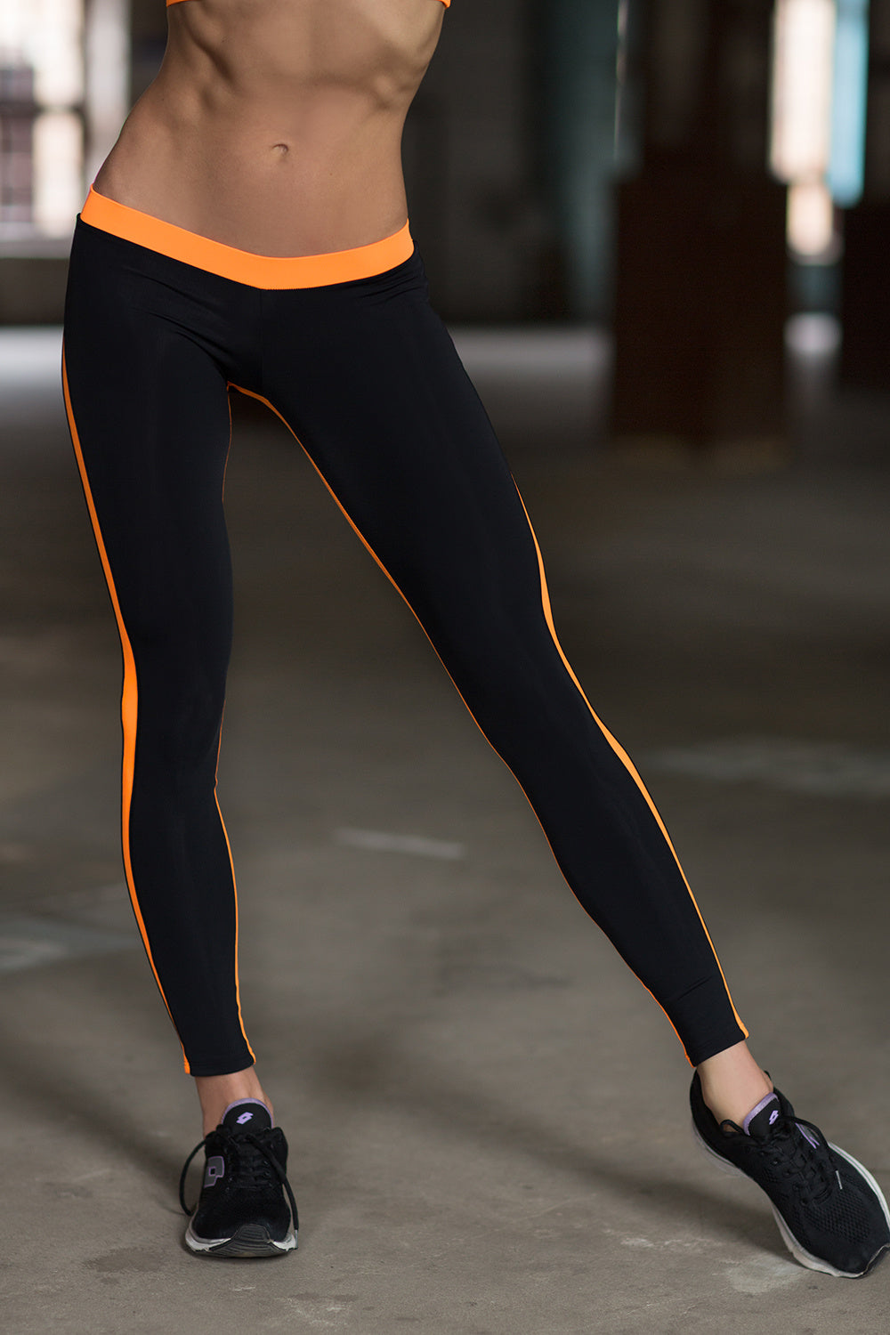 Low Rise Orange - Designed for Fitness