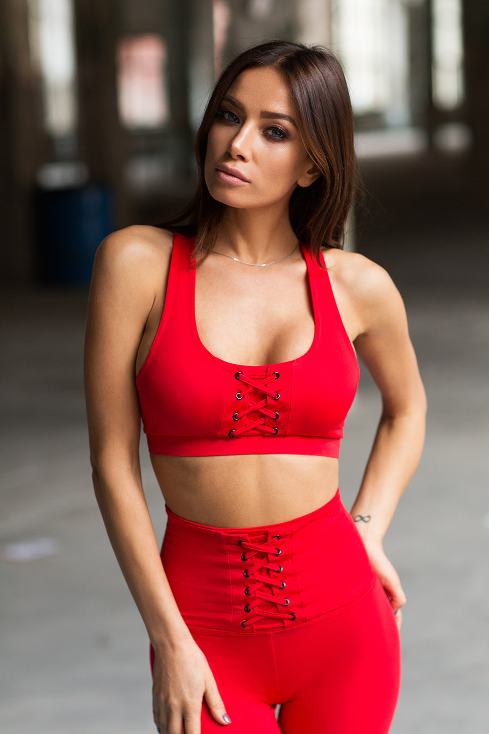 Top Red Corset - Designed for Fitness