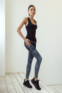 LIMITED Gradient Grey Jumpsuit - Designed for Fitness