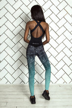 Load image into Gallery viewer, LIMITED Gradient Mint Jumpsuit - Designed for Fitness