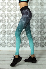 Load image into Gallery viewer, LIMITED Gradient Mint Leggings - Designed for Fitness