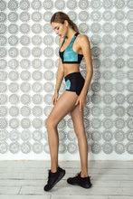 Load image into Gallery viewer, LIMITED Gradient Mint Bra & Shorts - Designed for Fitness