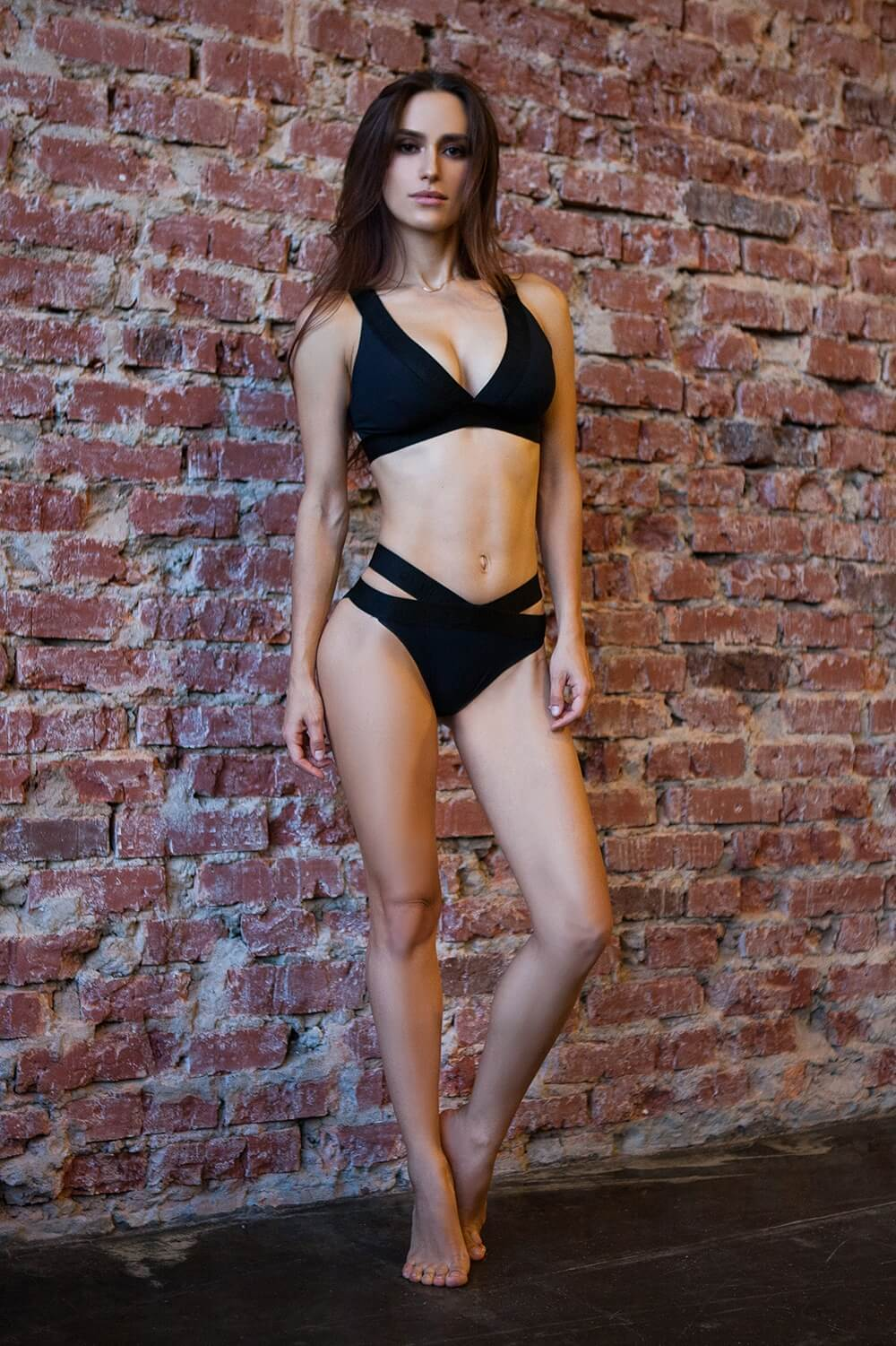 Basic Bra Bikini Black - Designed for Fitness